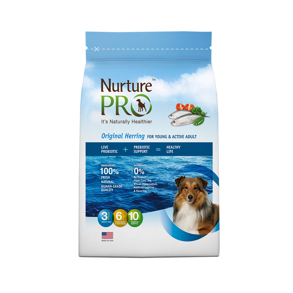 Nurture Pro Original Herring For Active & Young Adult Dry Dog Food