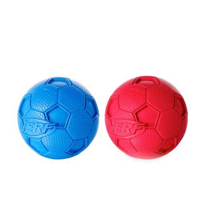 JEPetz - Nerf Dog Soccer Squeak Ball