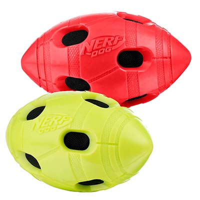JEPetz - Nerf Dog TPR Crunch Bash Football