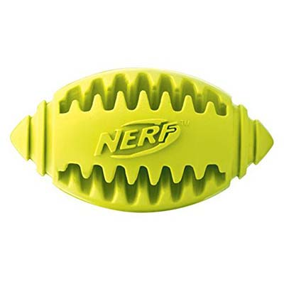 JEPetz - Nerf Dog Teether Football Green Small
