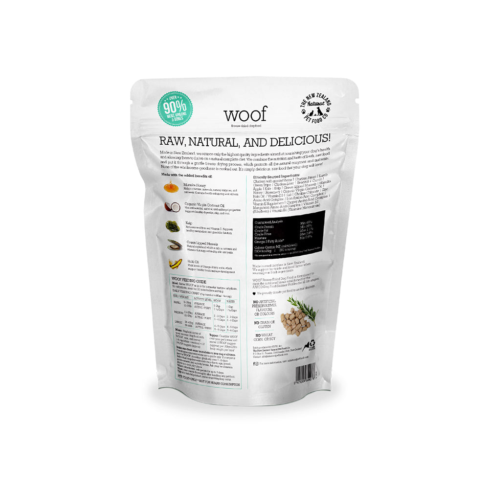 WOOF Chicken Freeze Dried Dog Food