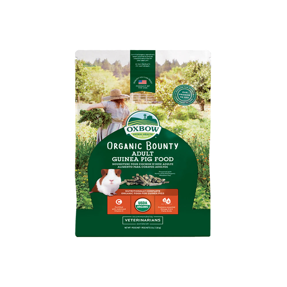 Oxbow Organic Bounty Adult Guinea Pig Food 3lb