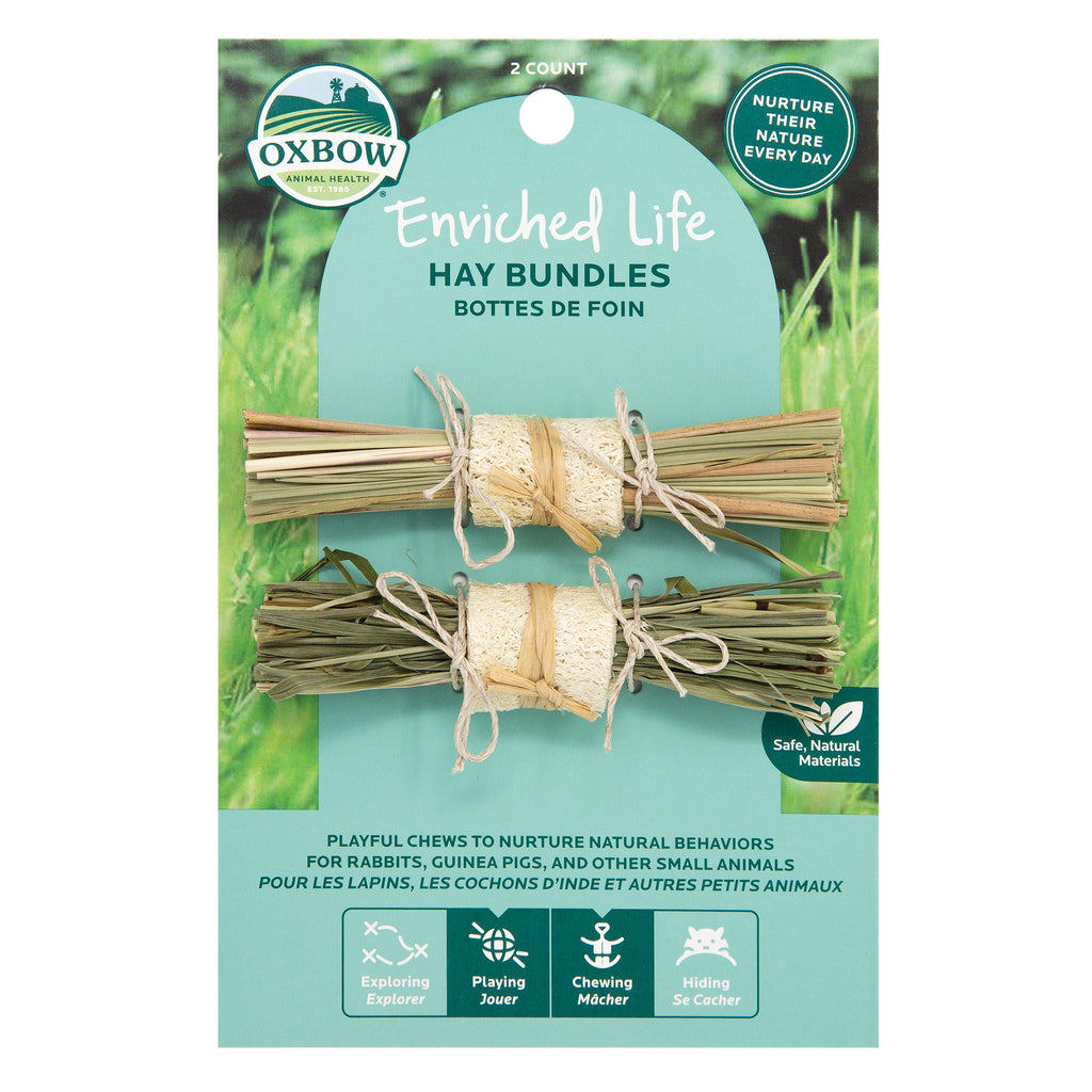 Oxbow Enriched Life Hay Bundles For Small Animals