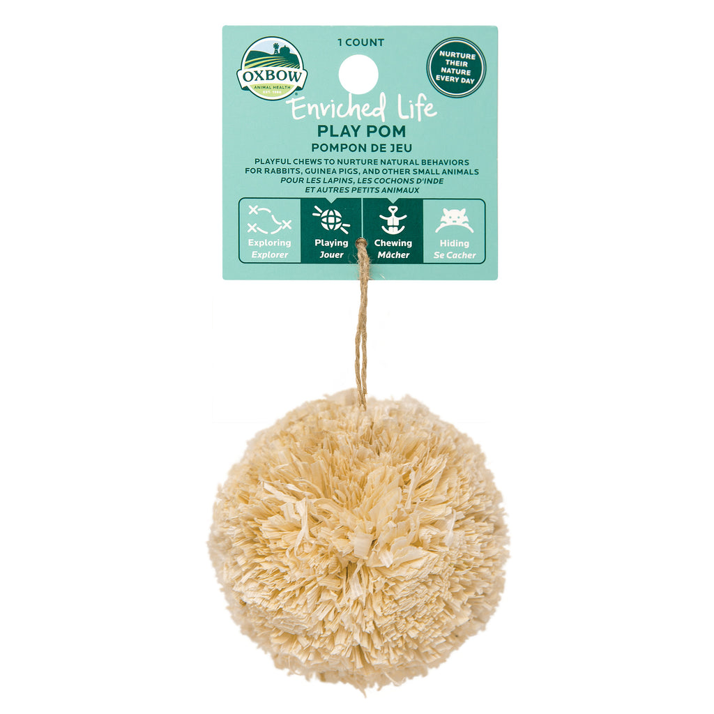 Oxbow Enriched Life Play Pom For Small Animals