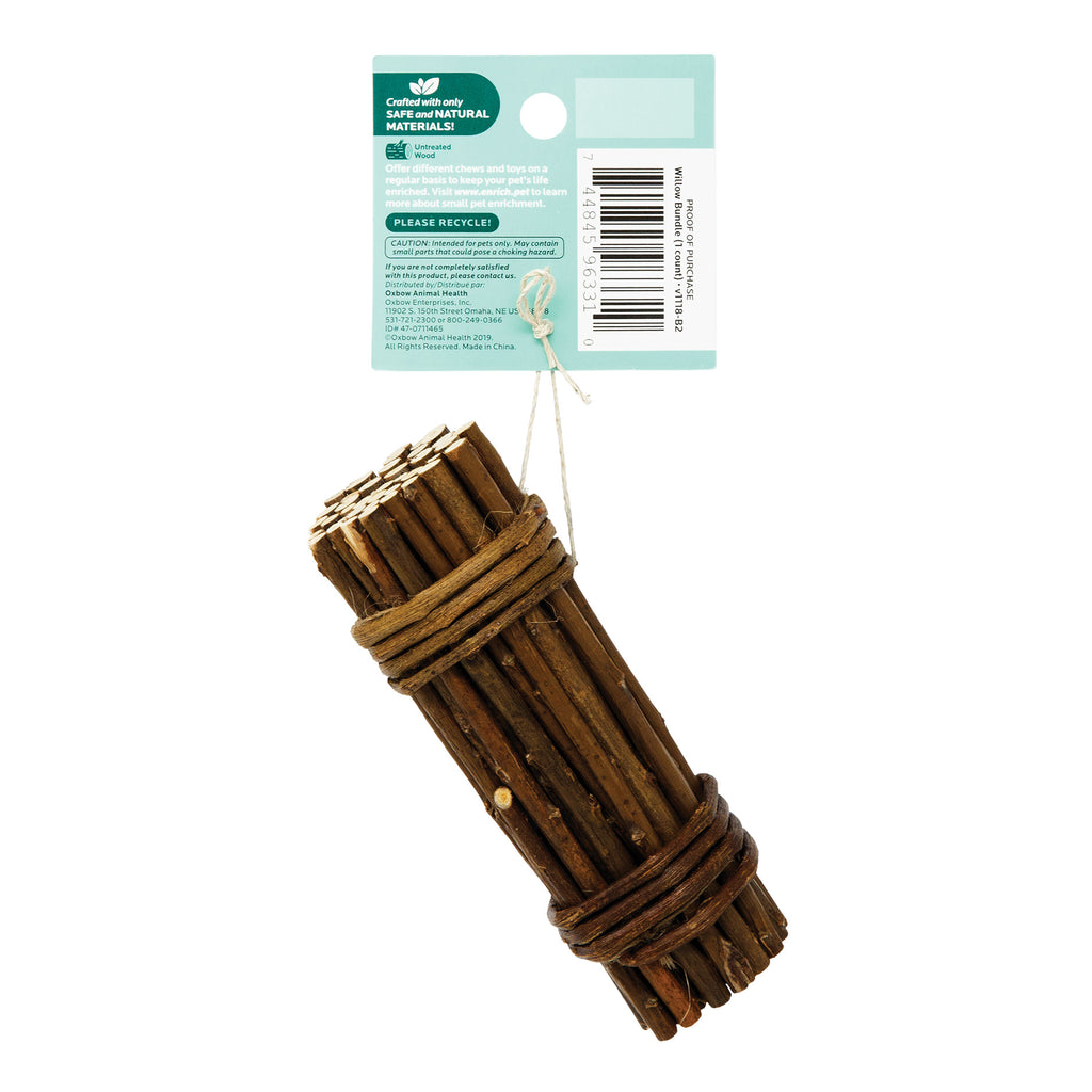 Oxbow Enriched Life Willow Bundle For Small Animals