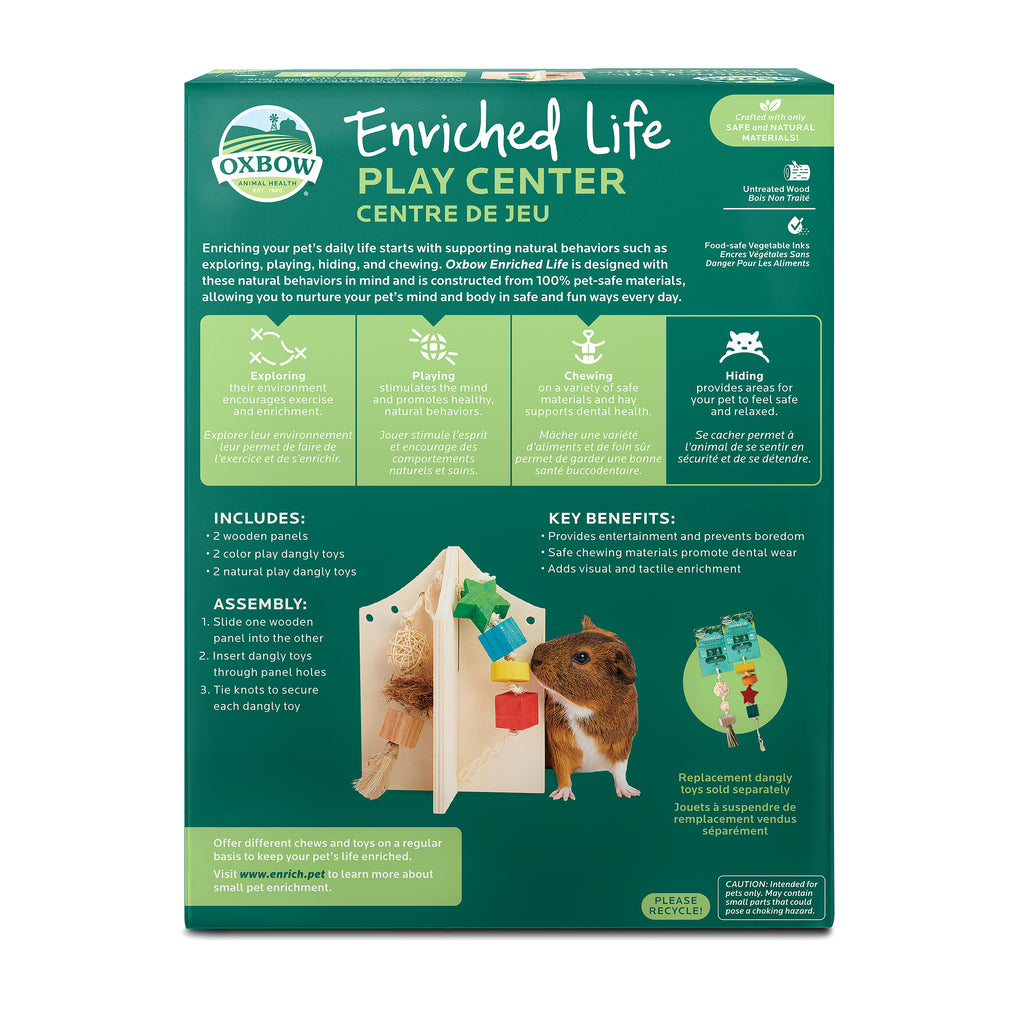 Oxbow Enriched Life Play Center For Small Animals