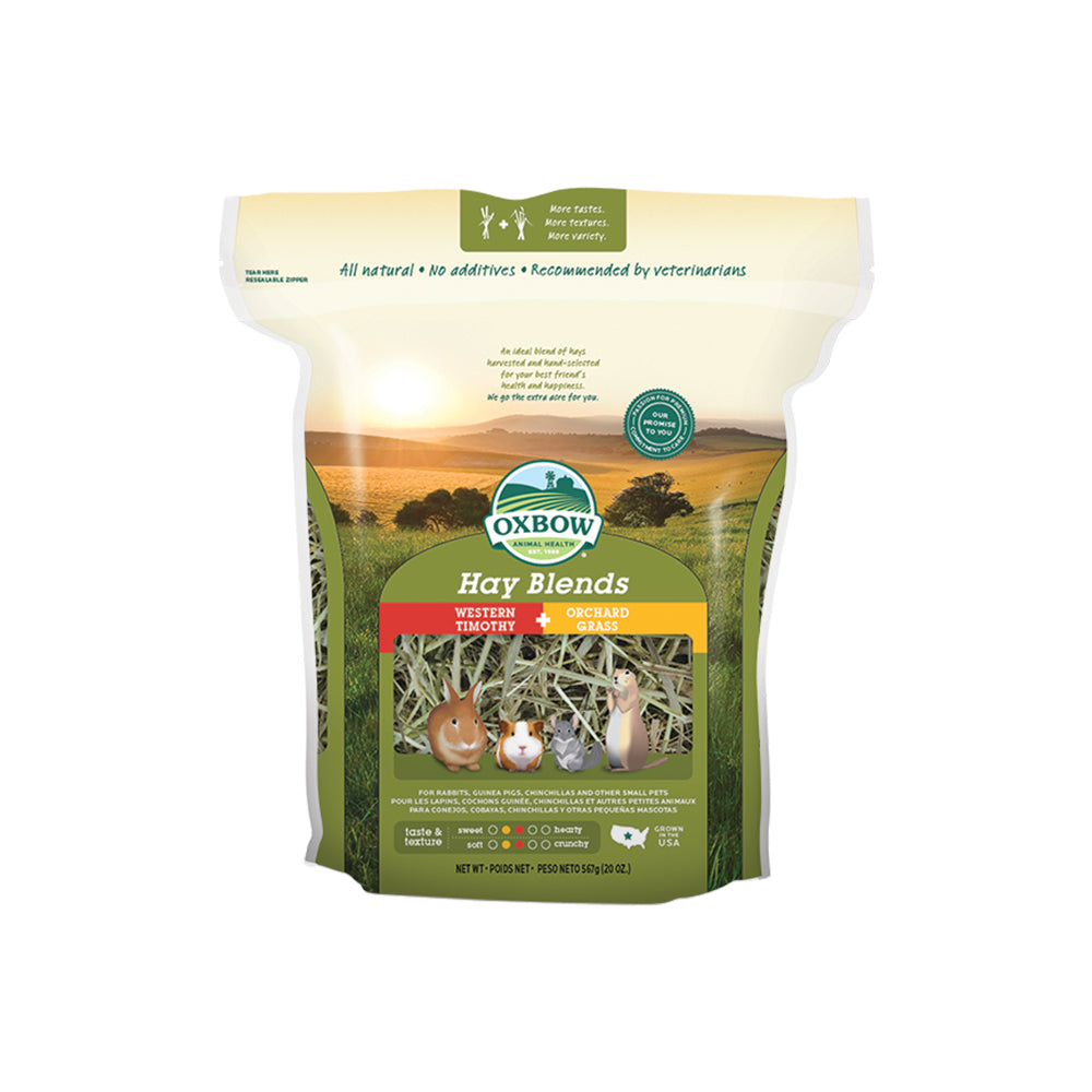 Oxbow Hay Blends Western Timothy & Orchard Grass Hay