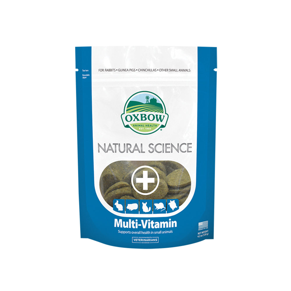 Oxbow Natural Science Multi-Vitamin For Small Animals 60 tabs