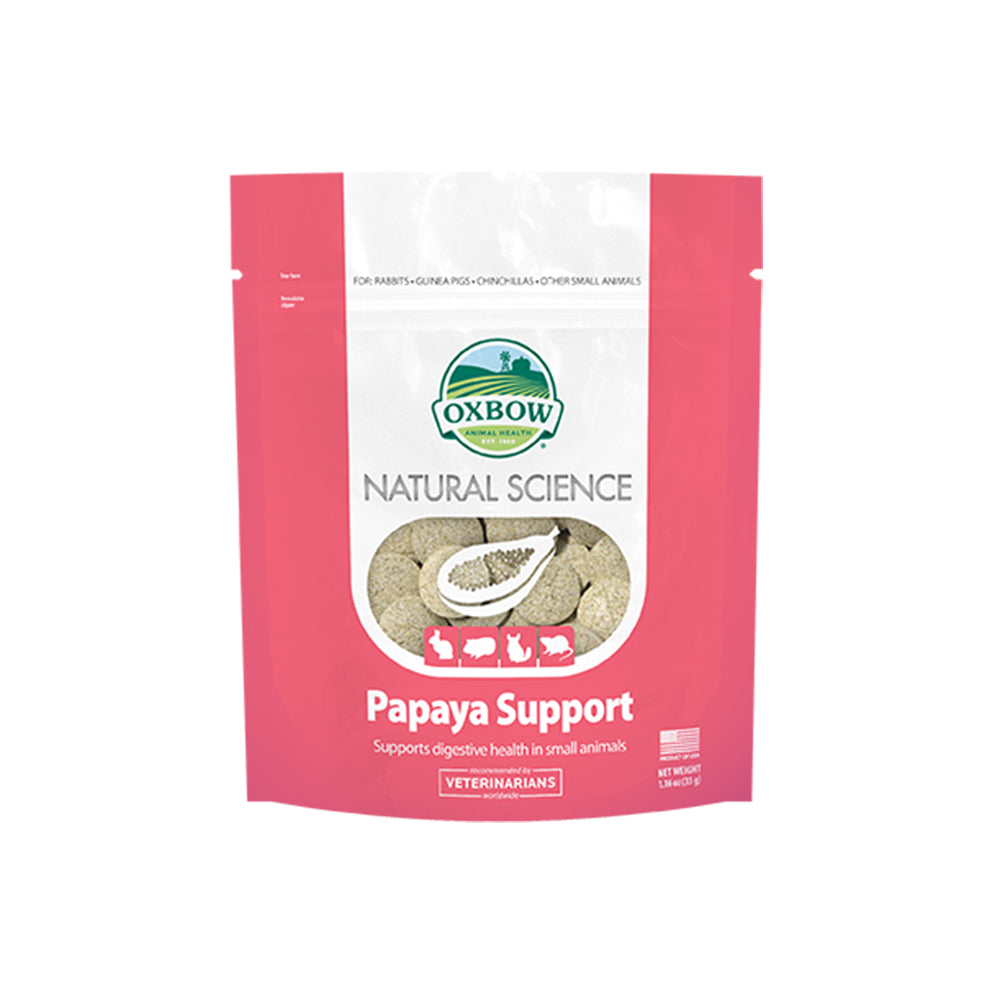 Oxbow Natural Science Papaya Support For Small Animals 33g