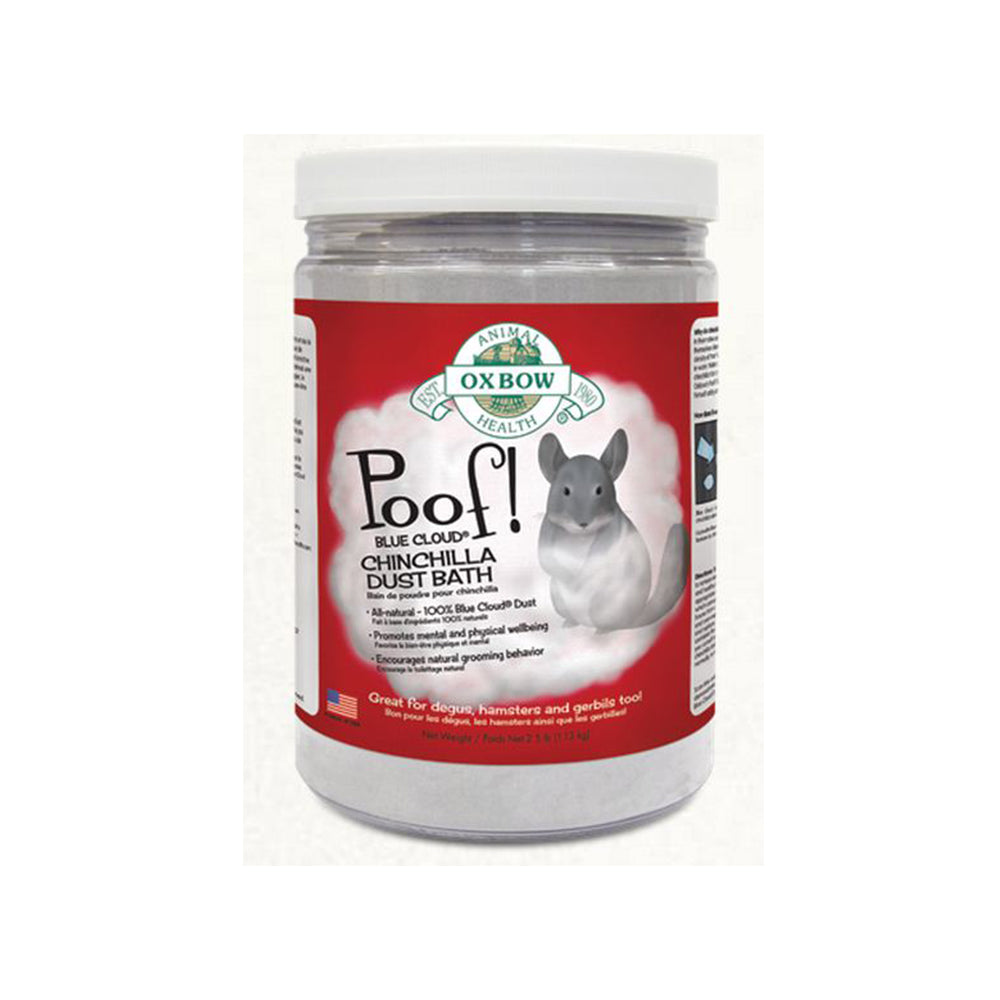 Oxbow Poof! Chinchilla Dust Bath 2.5lbs