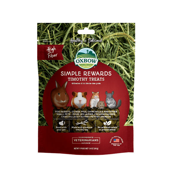 Oxbow Simple Rewards Timothy Treats 1.4oz