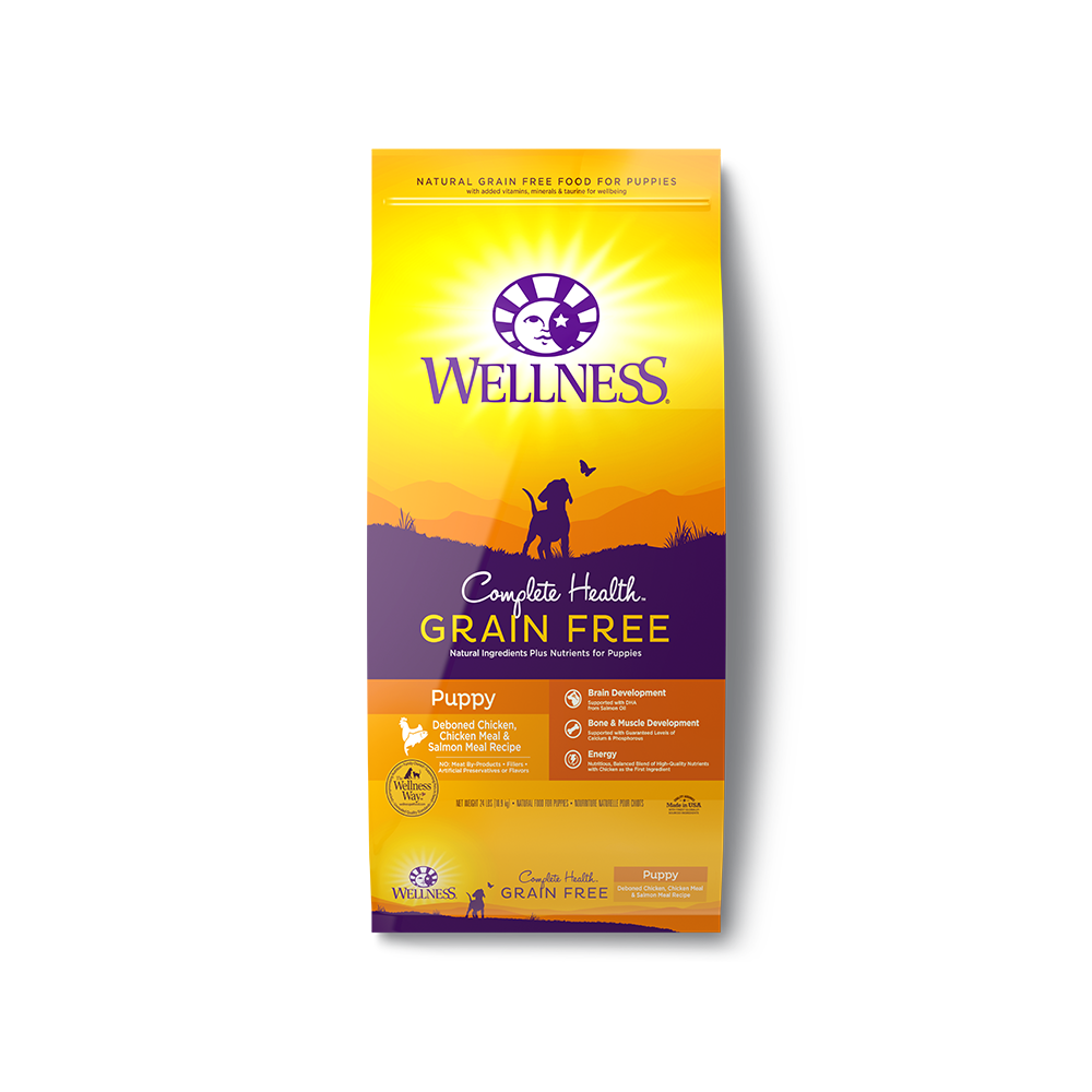 Wellness Complete Health Grain Free Puppy Dry Dog Food
