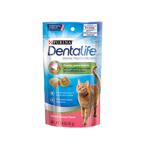 Purina Dentalife Salmon Cat Dental Treats