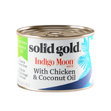 Solid Gold Indigo Moon with Chicken & Coconut Oil Canned Cat Food 6oz