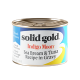 Solid Gold Indigo Moon Sea Bream & Tuna in Gravy Canned Cat Food