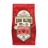 Stella & Chewy's Small Breed Raw Blend Red Meat Kibble With Freeze-Dried Raw Grain-Free Dry Dog Food 3.5lb