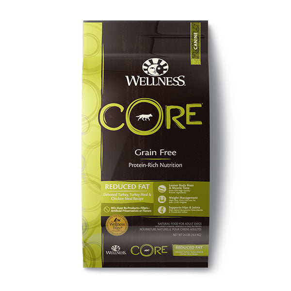 Wellness CORE Grain-Free Reduced Fat Formula Dog Dry Food