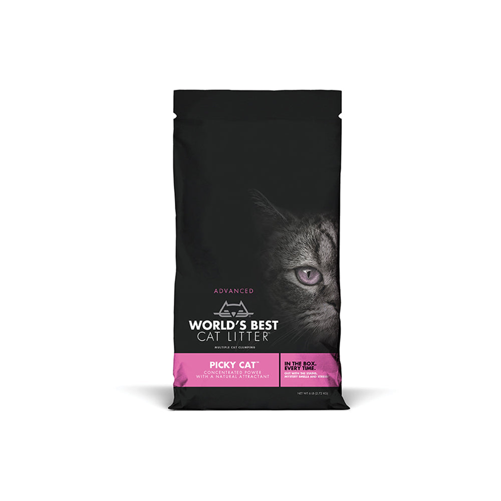 World's Best Cat Litter Picky Cat Formula Corn Cat Litter