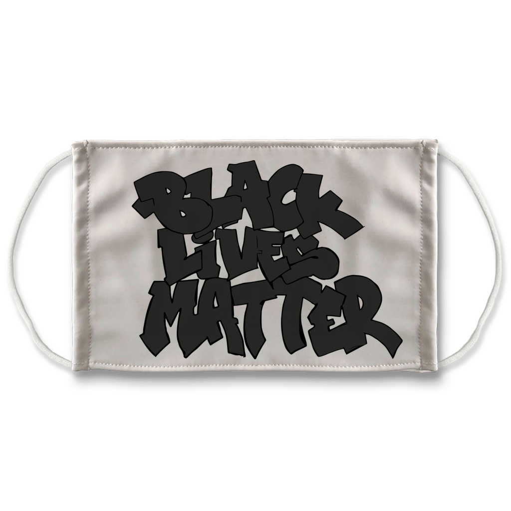 Black Lives Matter Glitch Face Mask (Special Edition)