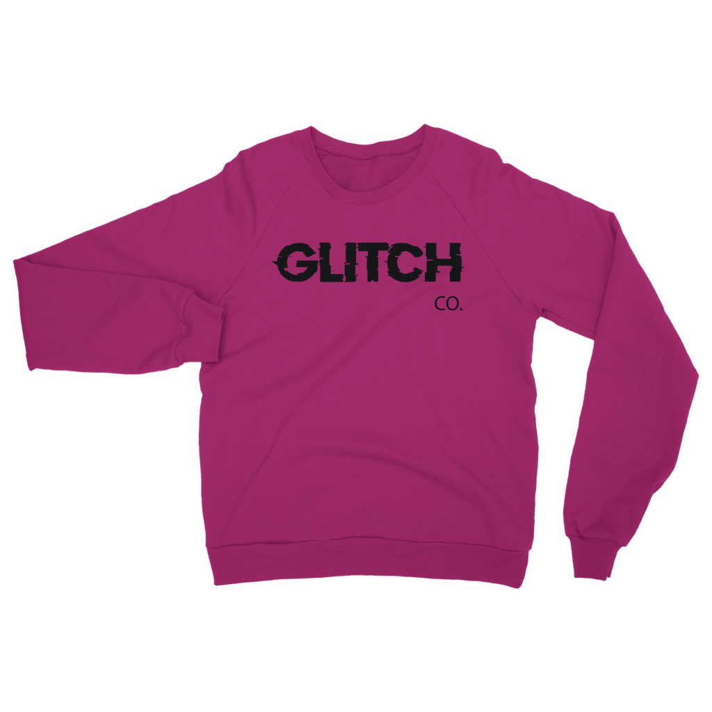 Glitch co. Adult Sweatshirt Black
