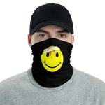 Smile Emoji Glitch co. Face mask