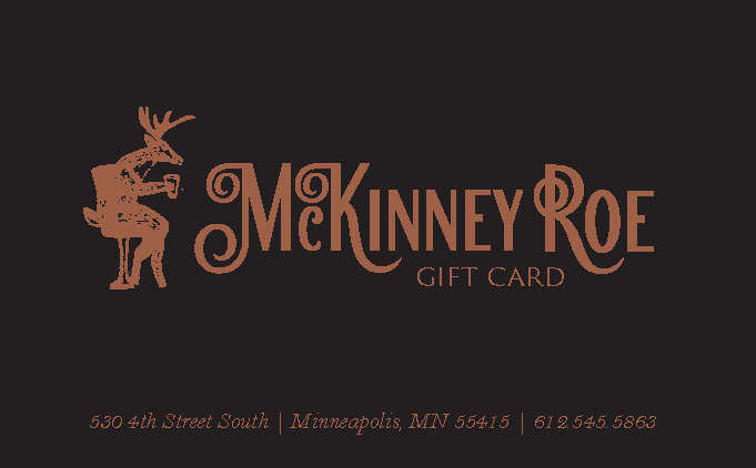 McKinney Roe's $100 Gift Certificate + $20 for You!
