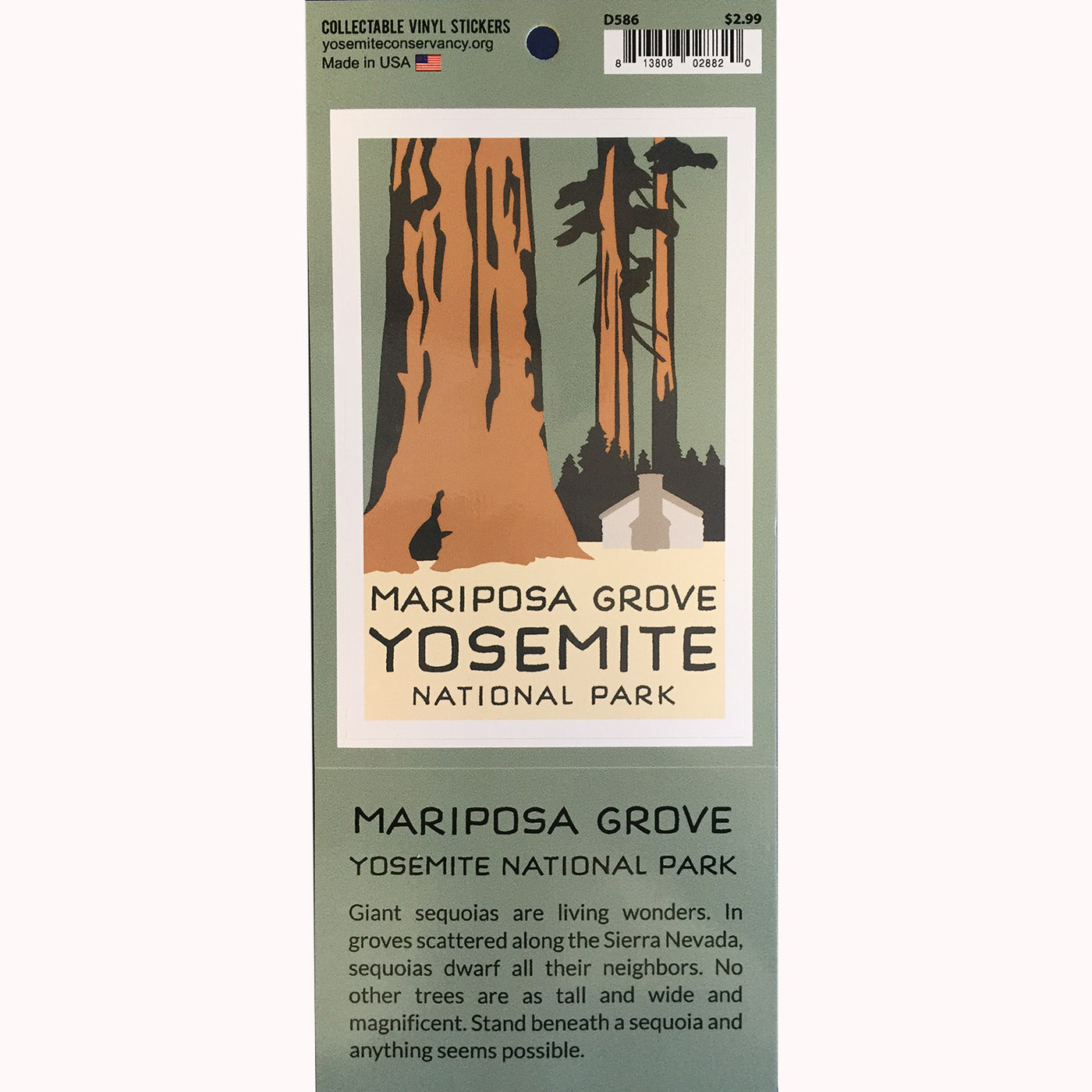 Mariposa Grove Decal