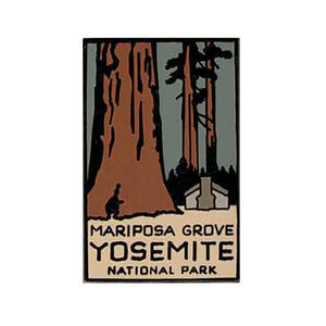 Mariposa Grove Lapel Pin