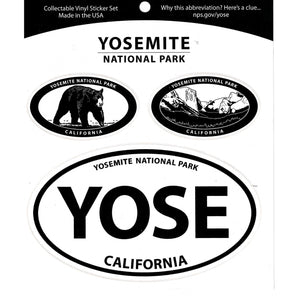 Yosemite Triple Decal