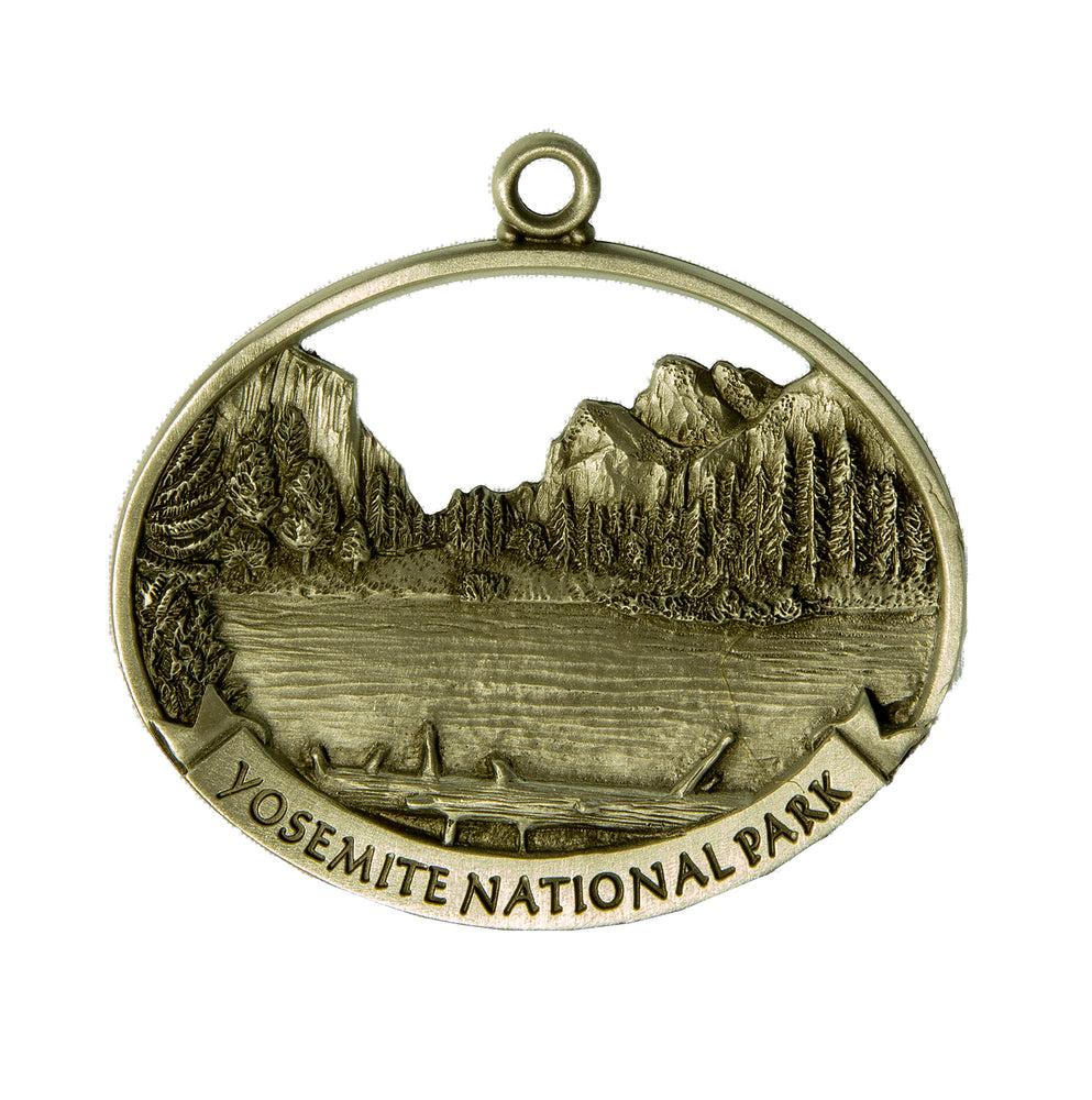 Pewter Valley View Ornament