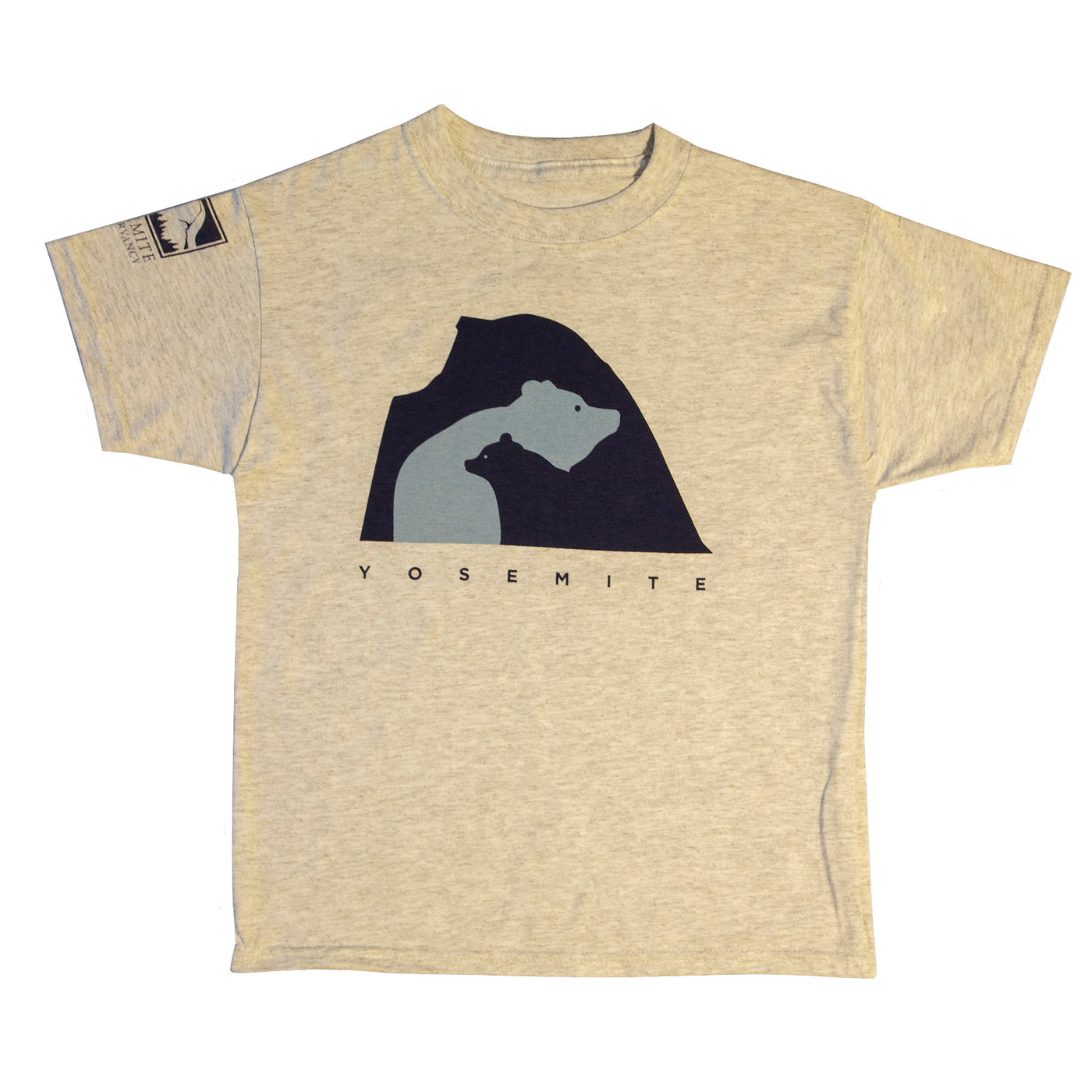 Half Dome and Bears Youth T-Shirt