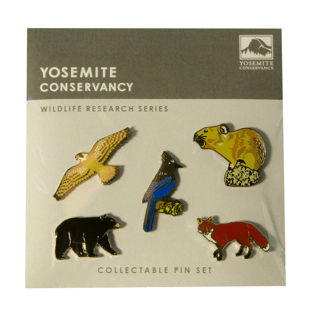 Wildlife 5 Lapel Pin Set
