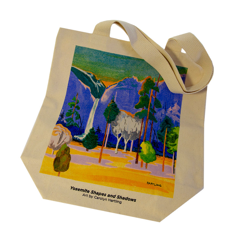 Yosemite Shapes and Shadows Tote Bag
