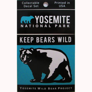 Keep Bears Wild Decal