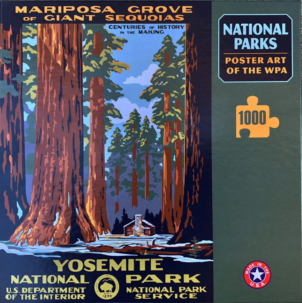 Puzzle: Mariposa Grove