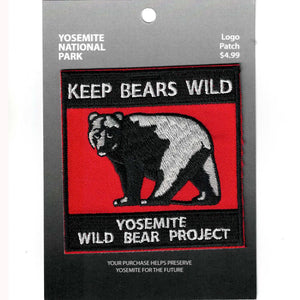 Keep Bears Wild Patch