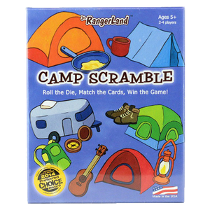 Camp Scramble Card Game