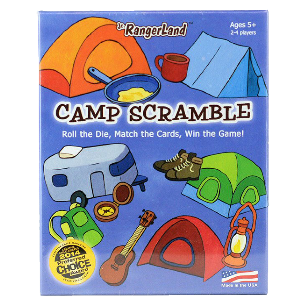 Game: Camp Scramble