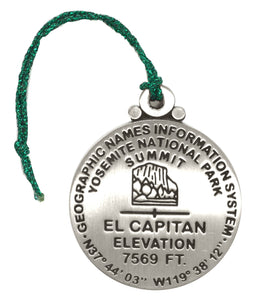 El Capitan Benchmark Ornament