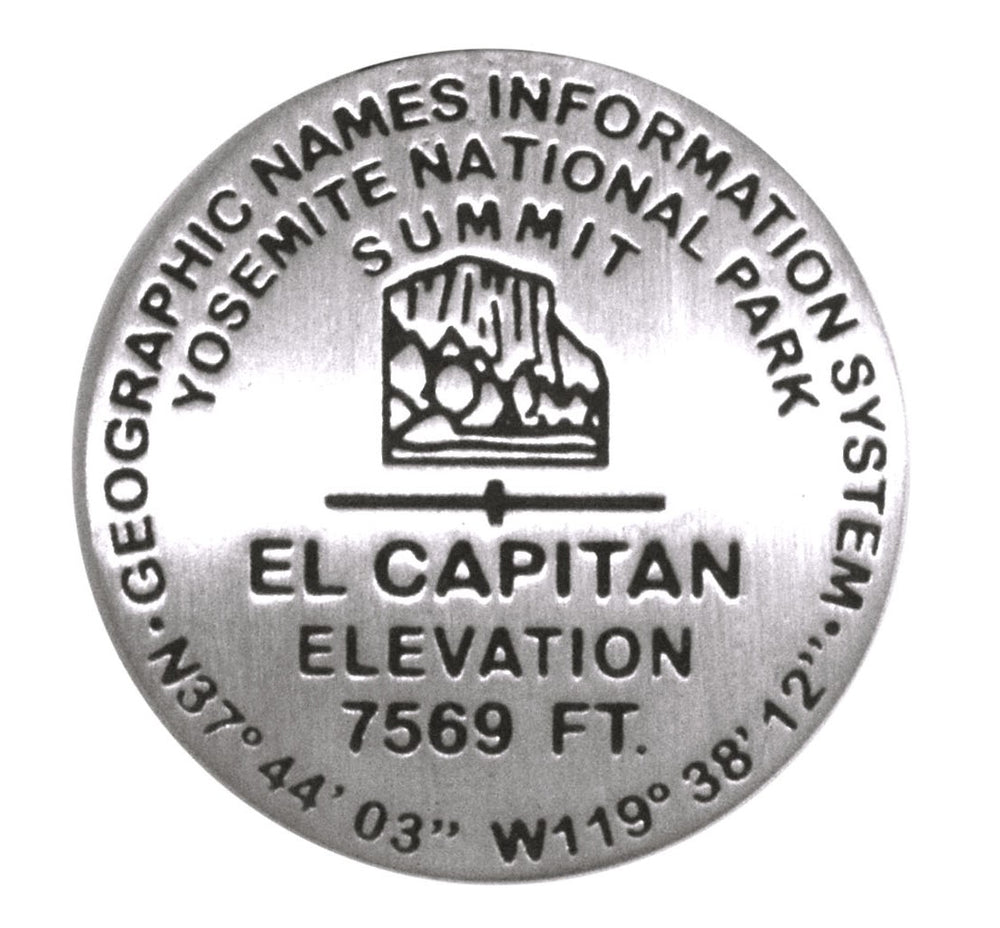 El Capitan Benchmark Pin