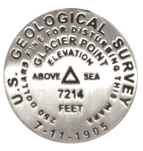 Glacier Point Benchmark Pin