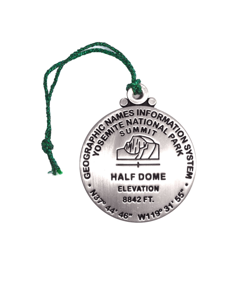 Half Dome Benchmark Ornament