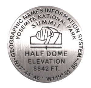 Half Dome Benchmark Magnet
