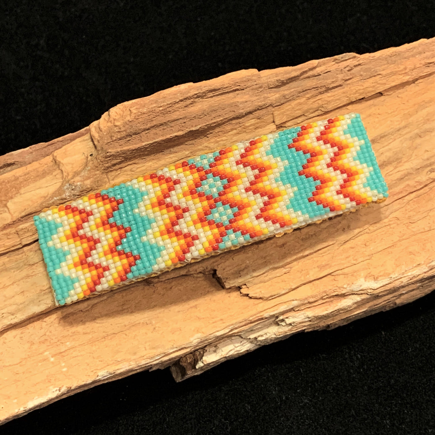 Beaded Loom Barrette
