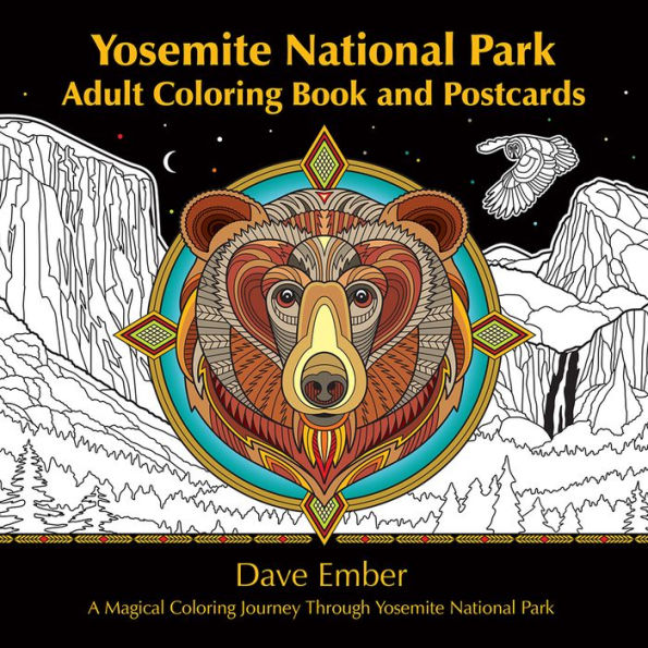 Yosemite Adult Coloring Book