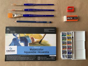 Artist Watercolor Kit