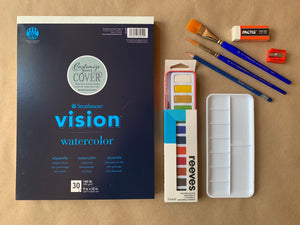 Beginner Watercolor Kit
