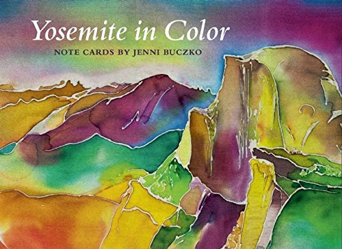 Yosemite in Color Notecards