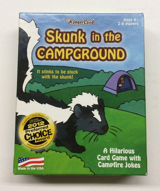 Card Game: Skunk In The Campgr