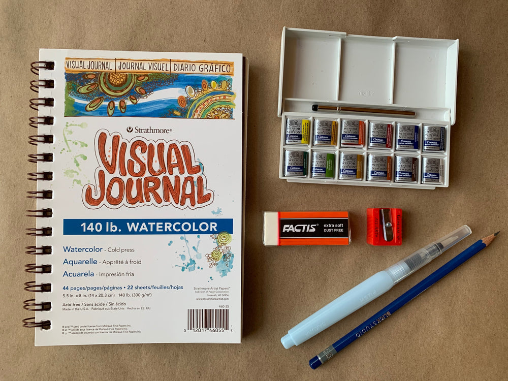 Travel Watercolor Kit